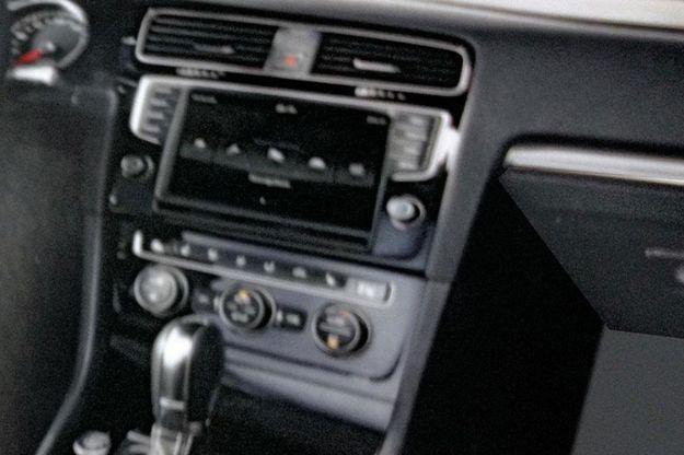 Volkswagen Golf VII, interni