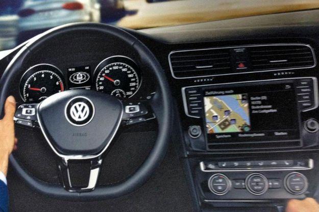 Volkswagen Golf VII, plancia
