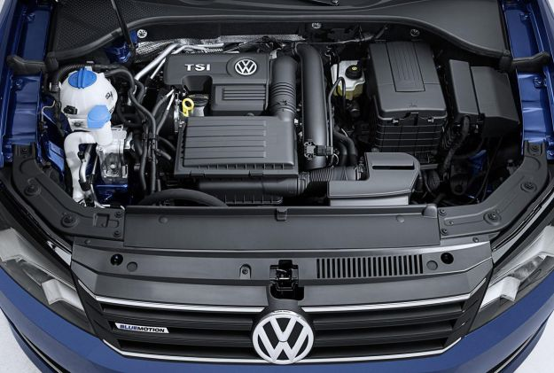 Volkswagen Passat BlueMotion Concept 2014 motore