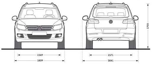 Volkswagen Tiguan Cross dimensioni_02
