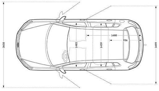 Volkswagen Tiguan Cross dimensioni_03