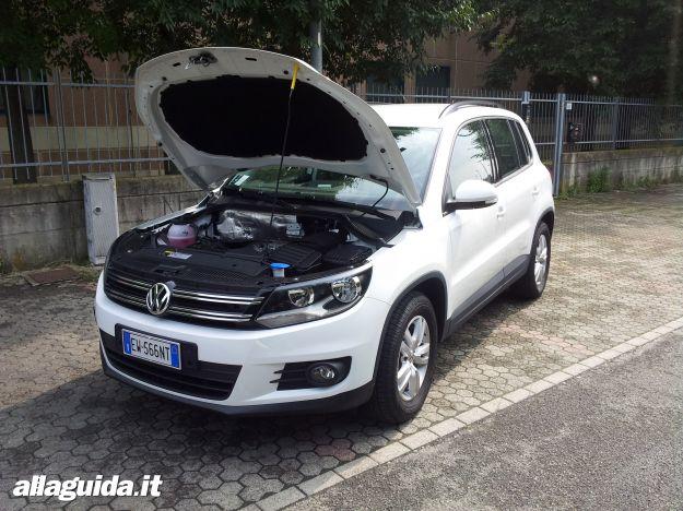 Volkswagen Tiguan Cross motori