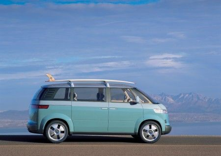 Volkswagen microbus fiancata
