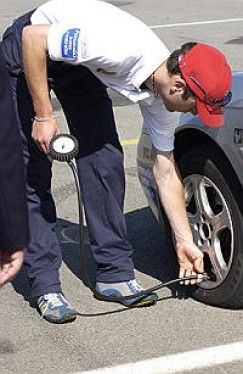 Controllo pressione pneumatico