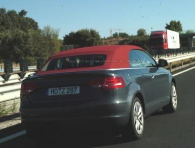 La nuova Audi A3 Cabrio