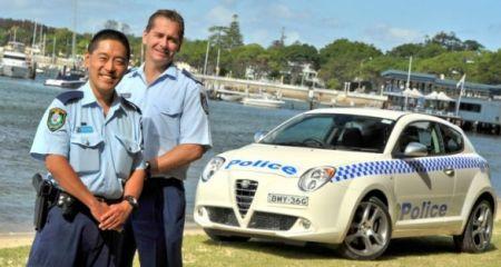 ALFA MITO AUSTRALIA POLICE