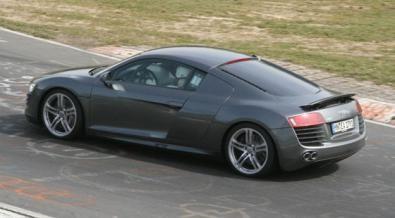 allaguida.it - Audi R8 V10 - nuove foto spia