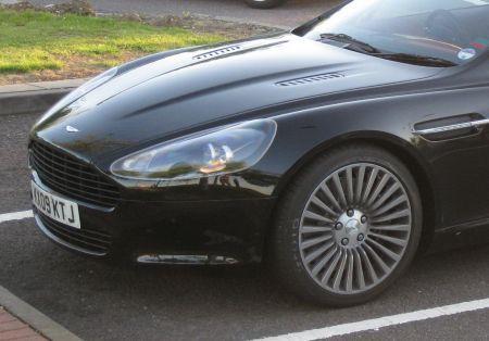 Aston Martin Rapide dettaglio