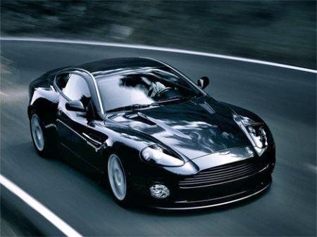 Aston Martin Vanquish V12 Twilight