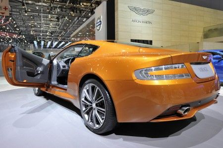 aston martin virage ginevra 2011 retro