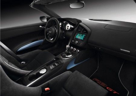 audi R8 GT Spyder interni