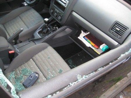 auto rubata danni