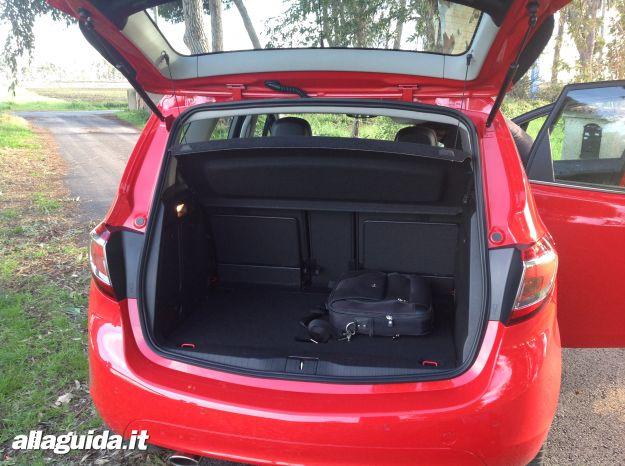 bagagliaio nuova Opel Meriva 2014