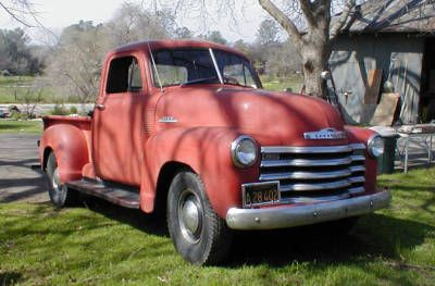 Pickup Chevrolet 1953 Twilight