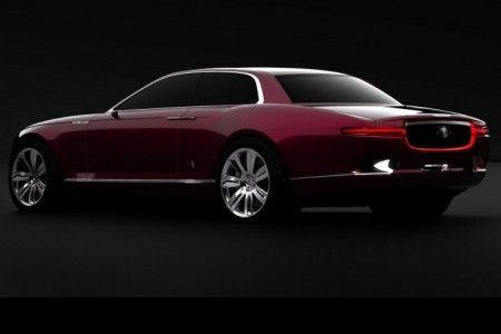 bertone b99 jaguar concept posteriore