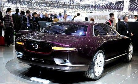 bertone jaguar b99 concept ginevra posteriore