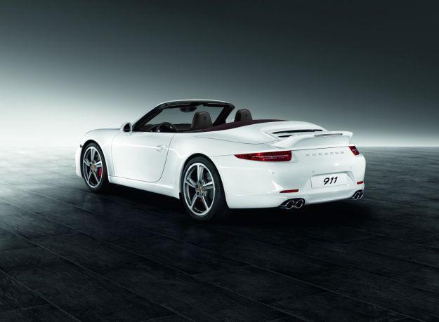 Porsche Exclusive: 911 Carrera Cabrio mit Sport Design Paket