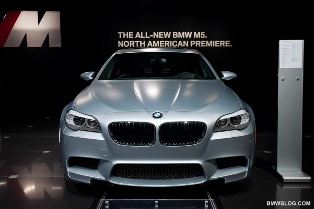 bmw m5 frozen silver los angeles 2011 muso