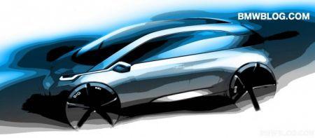 BMW Megacity - bozzetto