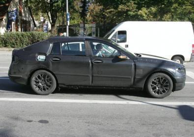 BMW Serie 5: foto spia