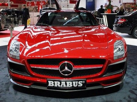 Mercedes SLS AMG by Brabus 3