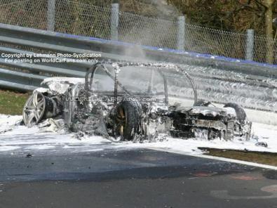 Le Audi bruciate