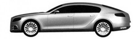 bugatti galibier 16c brevetto design fiancata