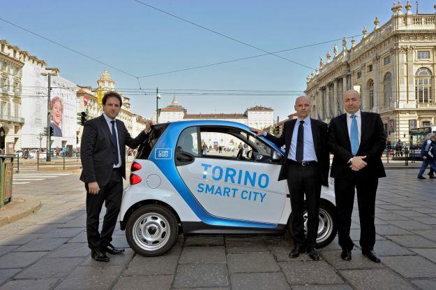 car sharing car2go a Torino