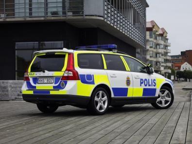 Volvo V70 alla Polizia Svedese