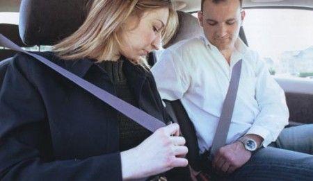 cinture sicurezza passeggero