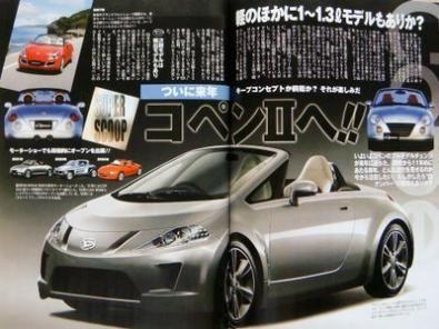 Nuova Daihatsu Copen