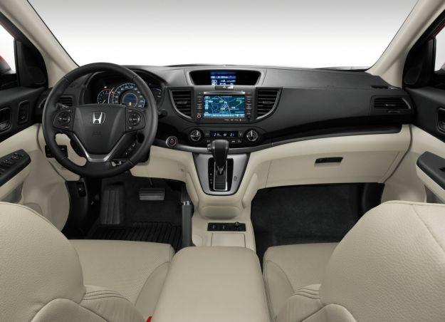 cruscotto della Honda CR V