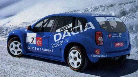 Dacia Duster Competizione