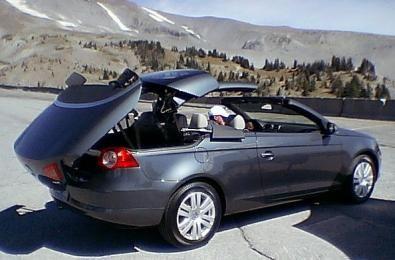 La Volkswagen Eos