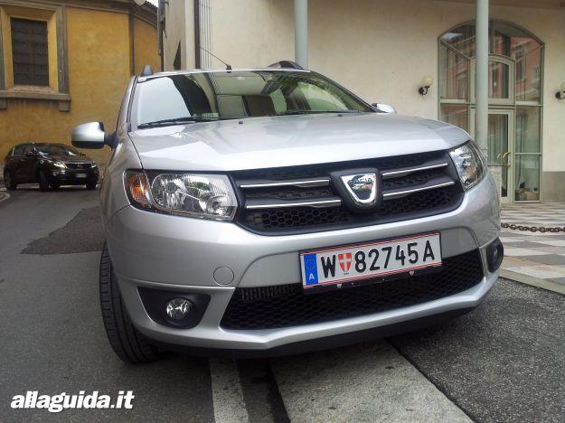 estetica e design nuova Dacia Logan MCV