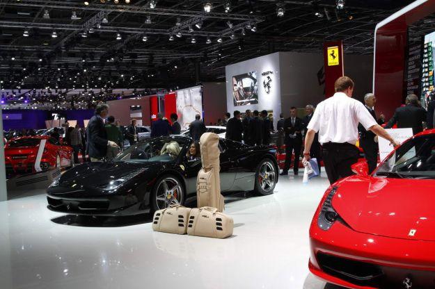 Ferrari 458 al Salone di Parigi 2012