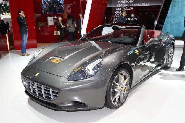 Ferrari California 30 al Salone di Parigi 2012