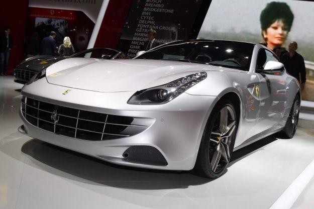 Ferrari FF al Salone di Parigi 2012