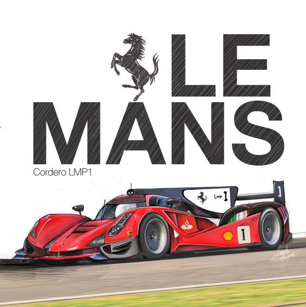 Ferrari LMP1 Render