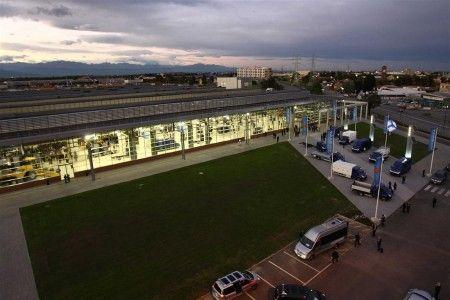 fiat industrial village inaugurazione aerea