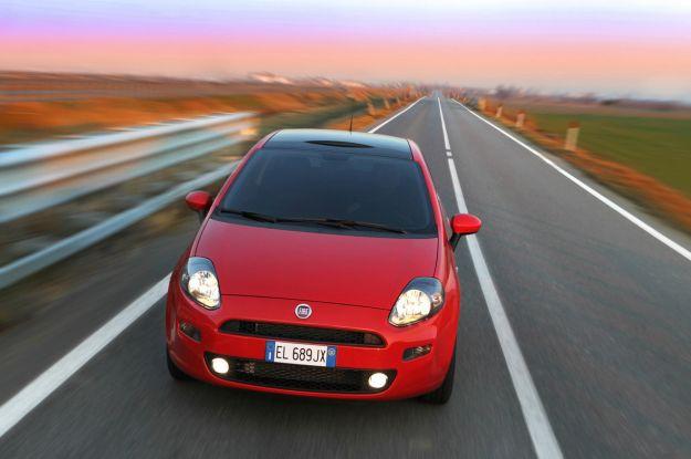 Fiat Punto auto più rubate Italia