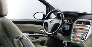 Nuova Fiat Grande Punto interni