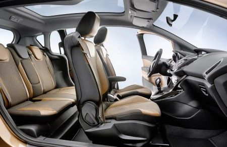 ford b max interni