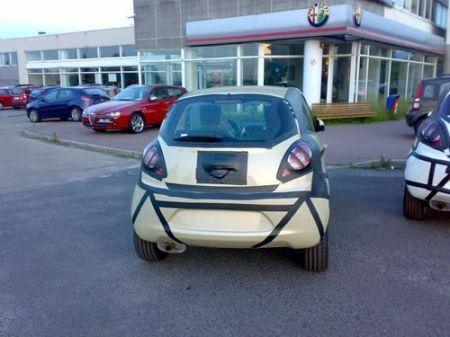 Nuova Ford Ka, foto spia