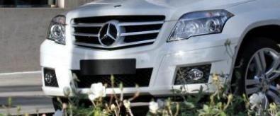 La nuova Mercedes GLK