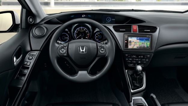 honda civic youtech interni