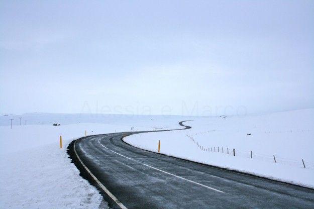 il giro dellislanda neve