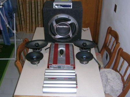 impianto audio auto completo usato