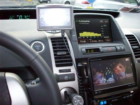 impianto audio auto infotainment