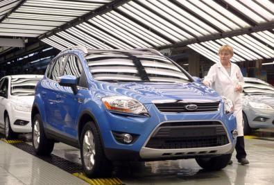 Ford Kuga: iniziata la produzione